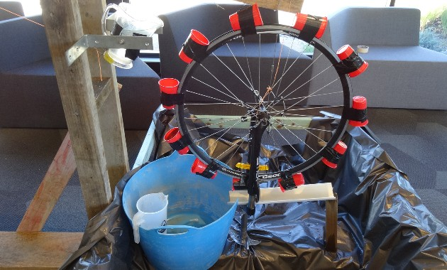 New student engineers build their 2020 Rube Goldberg Machine