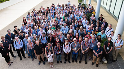 delegates at the attended the Australian Entomological Society conference