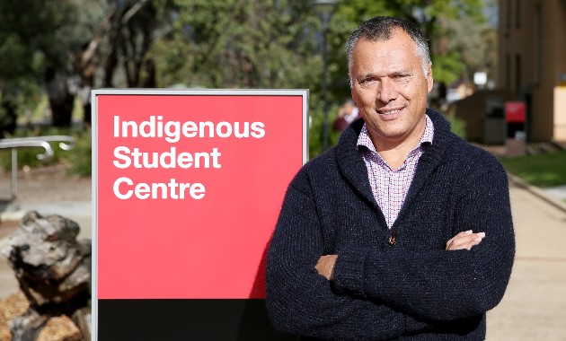 Professor Stan Grant Jnr to bring decades of knowledge and experience to new role at Charles Sturt