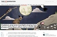 Predators Prey and Moonlight The Conversation September 4