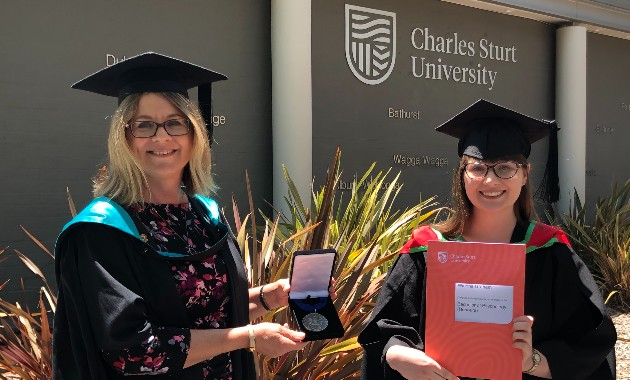 Charles Sturt congratulates end-of-year graduates