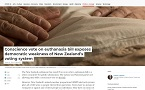 Conscience vote on euthanasia NZ