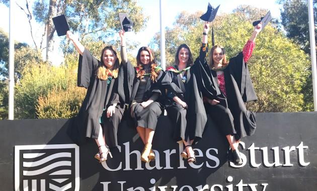 Teaching 2020 graduates take to the stage