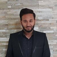 Portrait of Ahmed Ikramullah