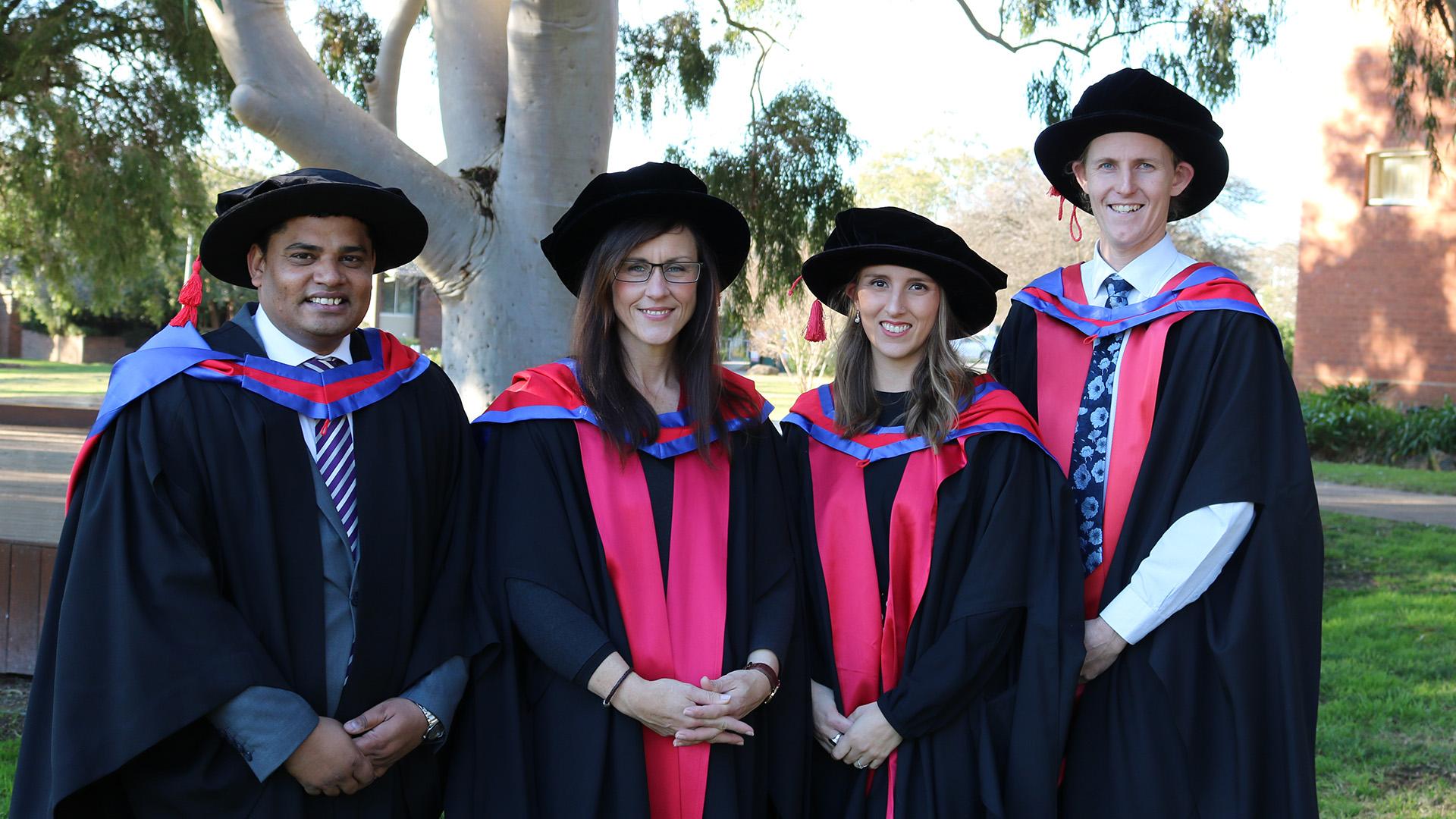 Dr Sajid Latif, Dr Jane Kelly, Dr Cara Wilson and Dr Thomas Wilson