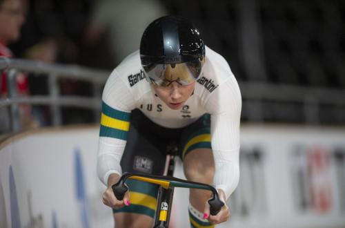 Kaarle McCulloch – Track sprint cycling