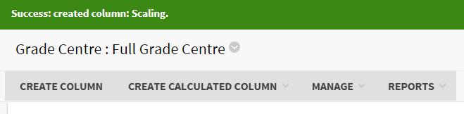 manage column