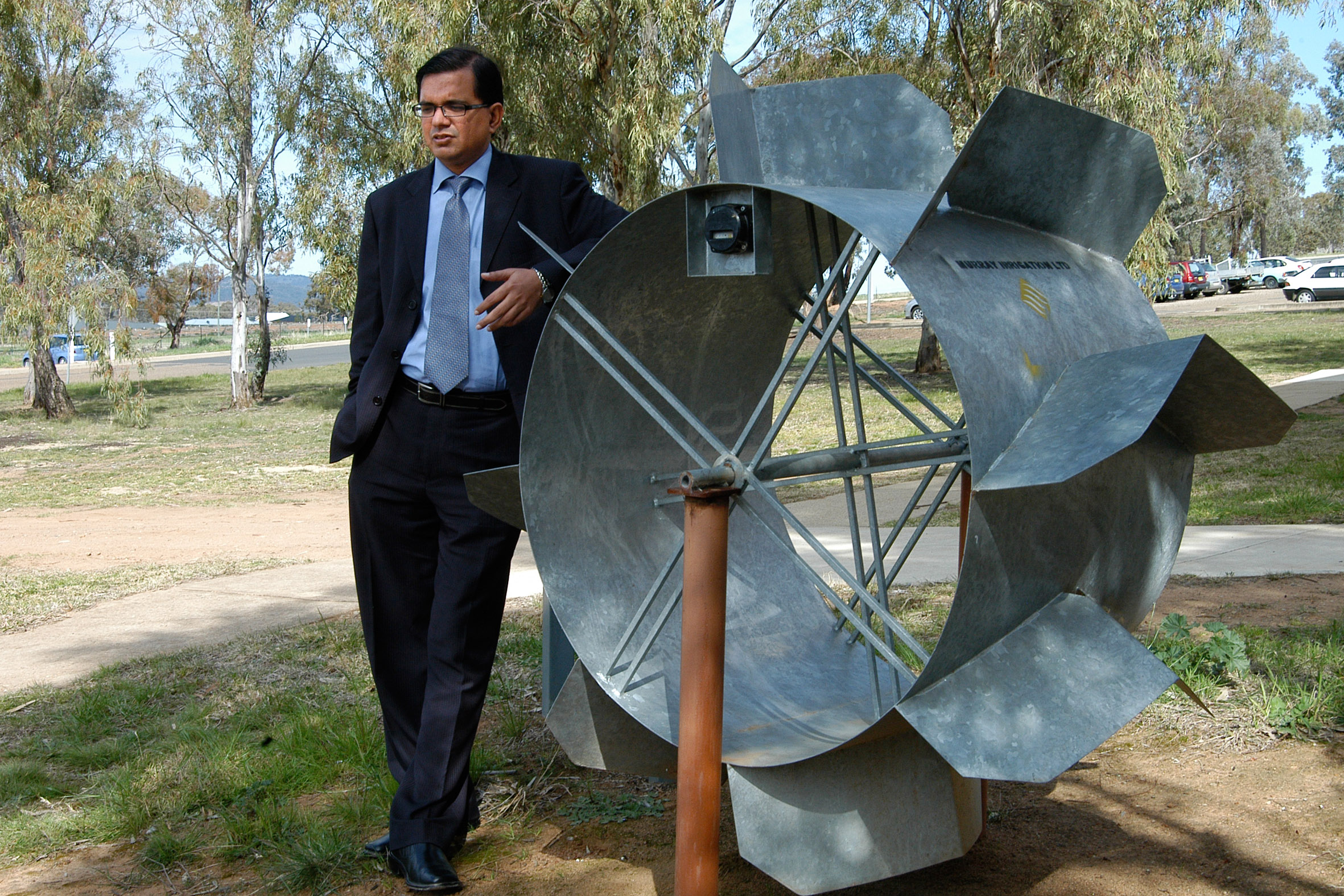 Director of IC Water, Associate Professor Mohsin Hafeez looks forward to the opening of a new home for IC Water.