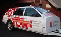 The CSU paramedic simulation trauma car