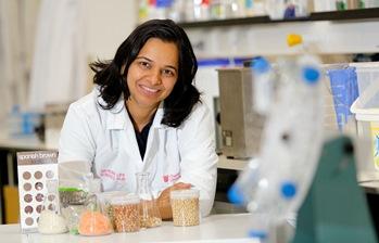 Photo of PhD student Ms Neeta Karve