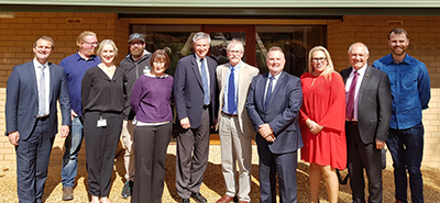 The AgriTech Incubator also hosted the NSW Parliamentary Committee on Investment, Industry and Regional Development, who visited the region as part of the inquiry into support for start-ups in regional areas.