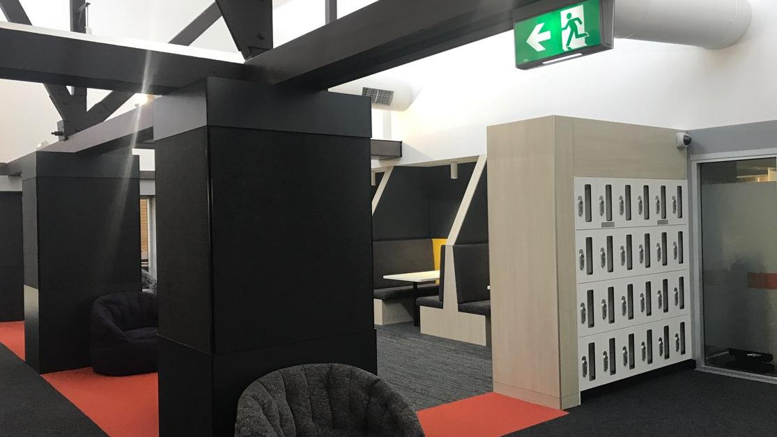 Orange Hub Refurbishment