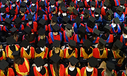 Research honoured in graduation ceremonies