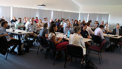 photo of crowd at the symposium