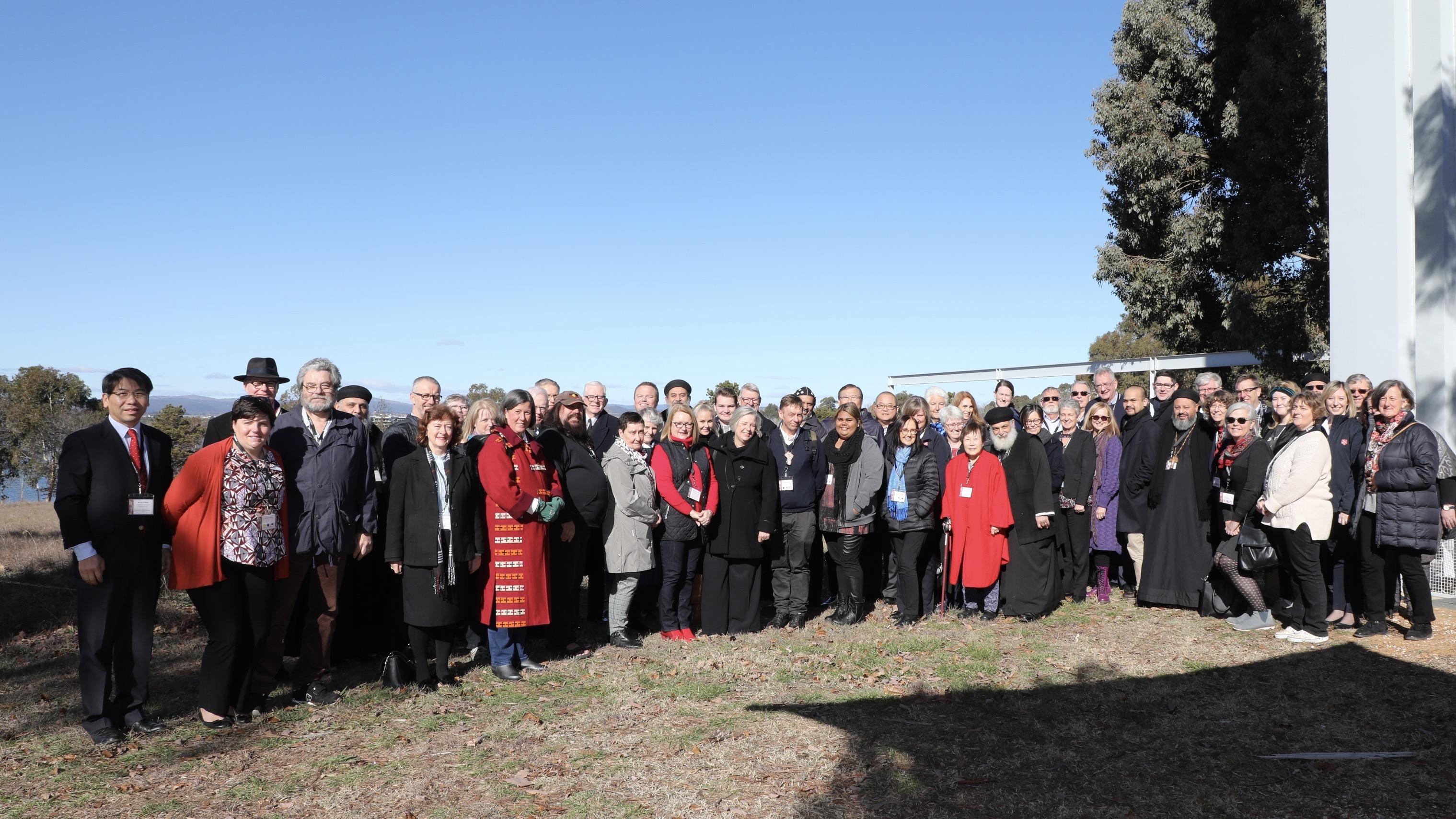 Group photo of Forum participants