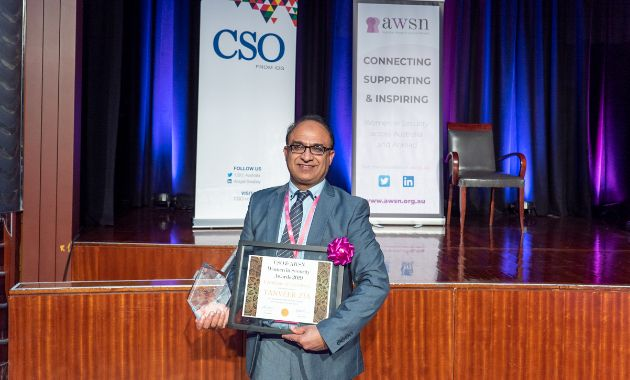 Charles Sturt 'Girls in Cyber Security Advancing' project takes out award