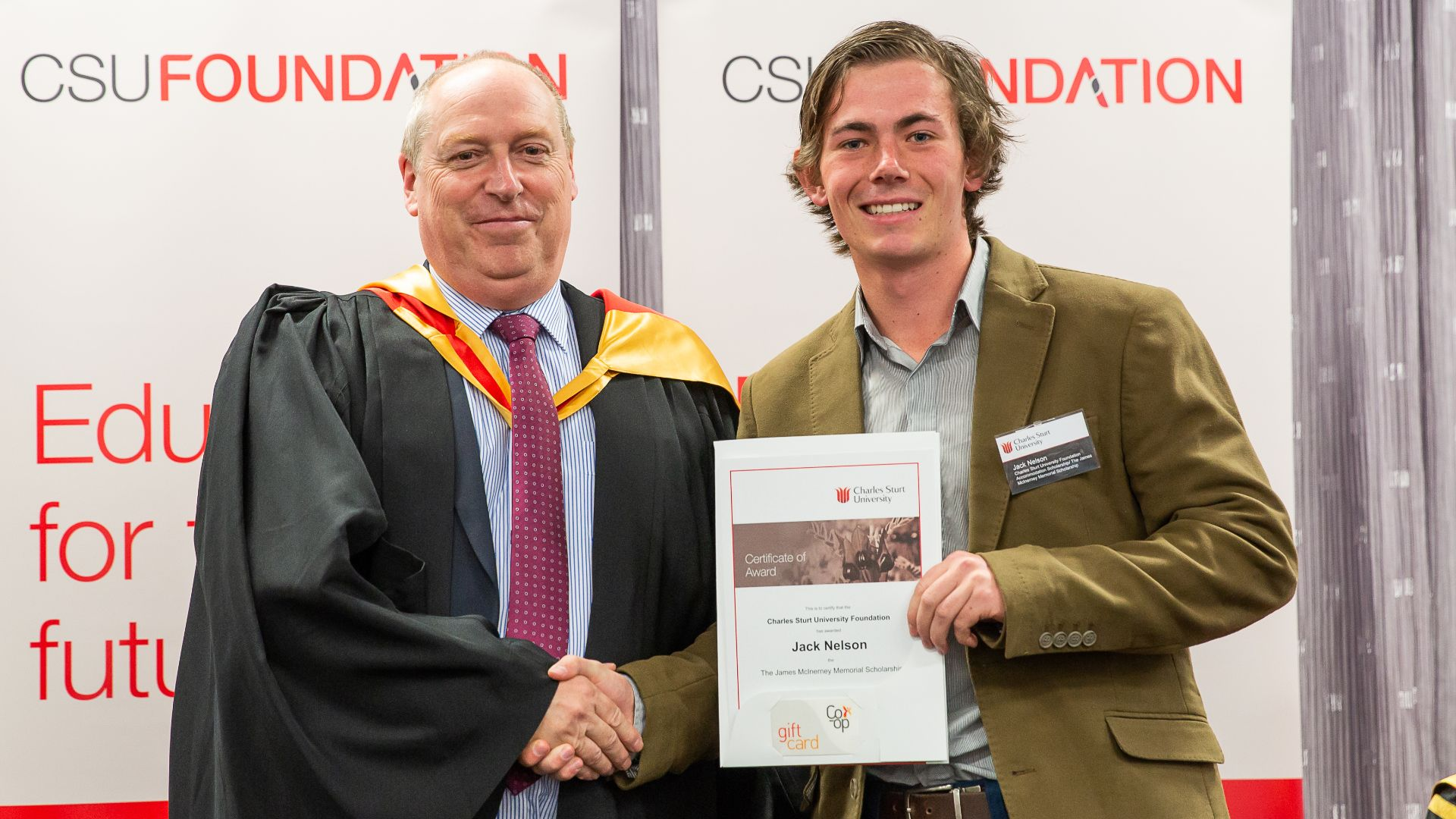 Charles Sturt students encourage others to apply for scholarships before deadline