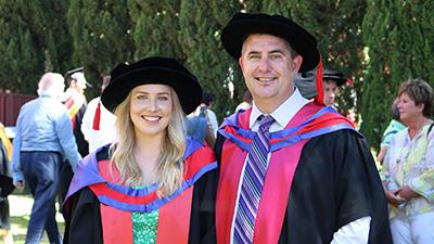 Dr Rachael Wood and Professor Chris Blanchard
