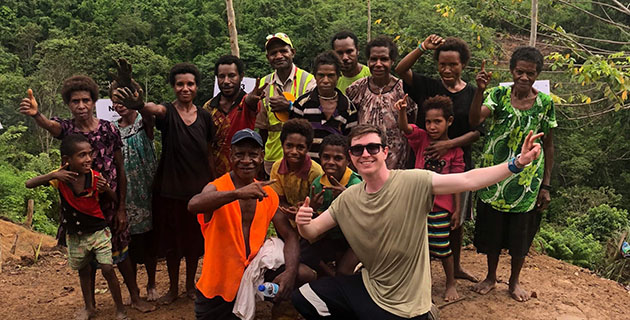Study overseas: the unique plan that took Dylan on exchange to PNG