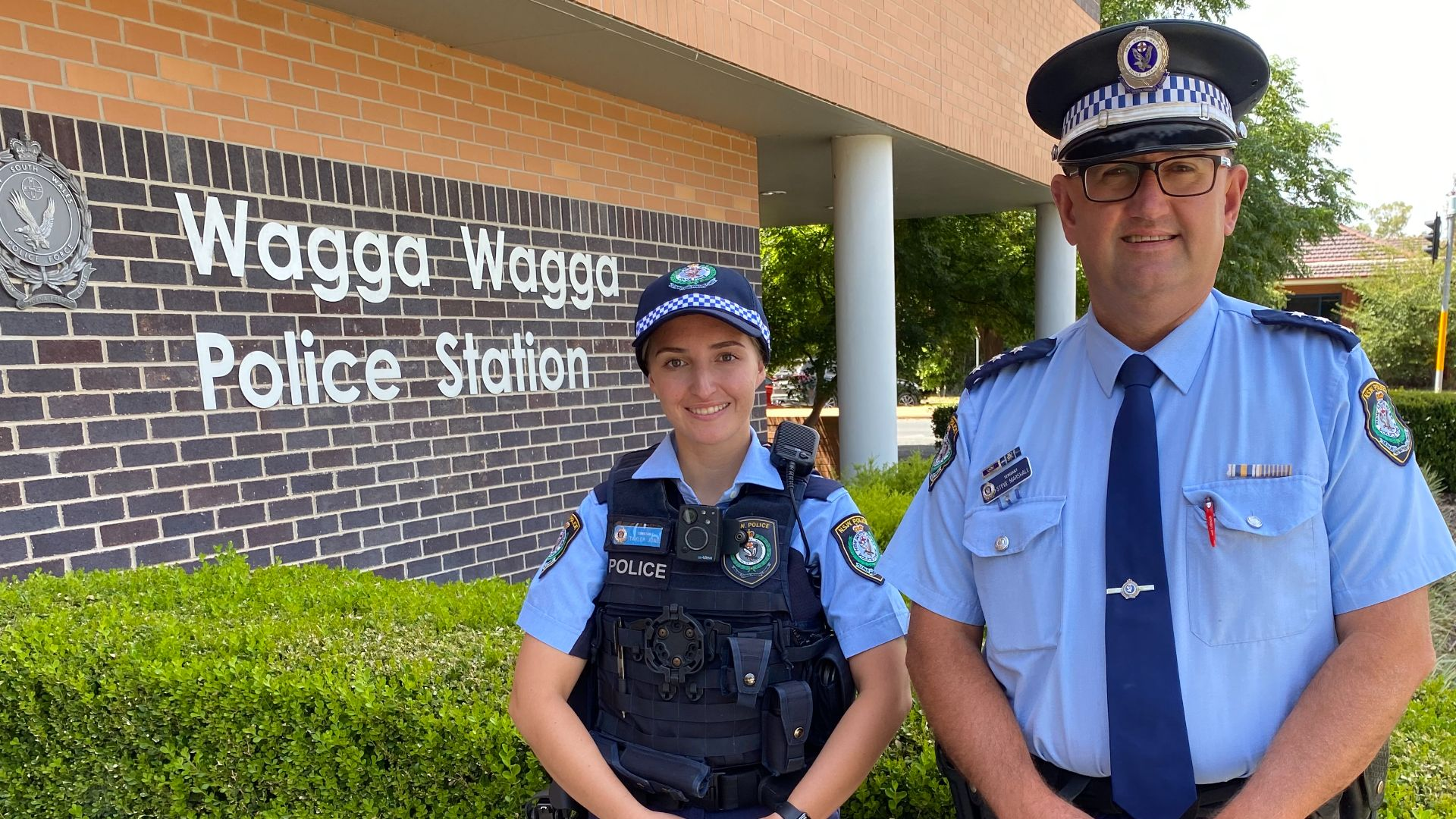 New Probationary Constable in Wagga Wagga follows in father's footsteps