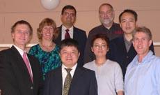 Senior water researchers from Hohai and Charles Sturt universities.