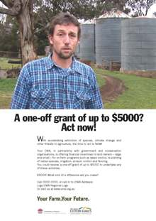 Campaign Poster 0 A one-off grant of up to $5000