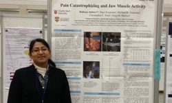 Dr Rahena Akhter at the 2015 IADR conference in Boston