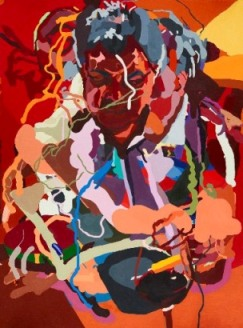 Luke by CSU PhD artist Tony Curran