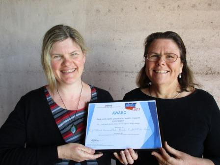 Dr Rachel Whitsed and Dr Alexandra Knight