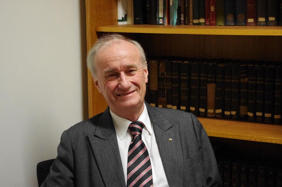 The Reverend Professor Emeritus James Haire