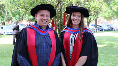 Professor Anthony Saliba and Dr Kyah Hester