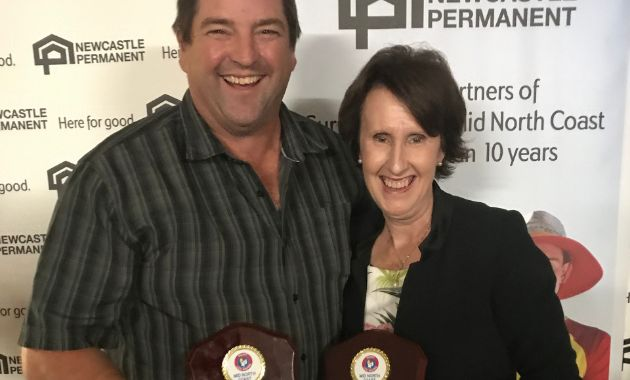 Surf lifesaving awards for lecturer on Mid North Coast