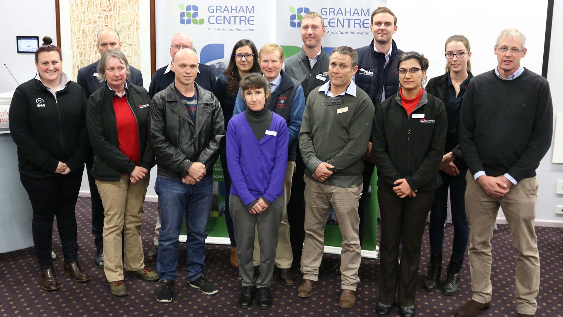 Speakers at the Graham Centre Livestock Forum