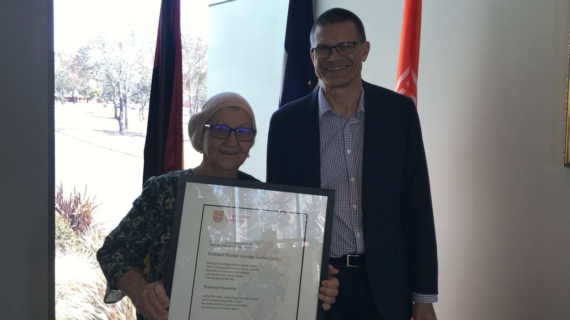 Heather 'Jeannie' Herbert conferred title of Emeritus Professor for service to Indigenous education