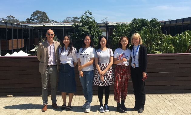 International students celebrated at Charles Sturt in Port Macquarie
