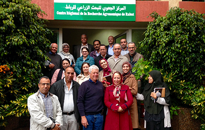 Dr Norton presented a seminar to the the Forages Research group at the Institute National de Recherche Agronomique de Rabat (INRA)