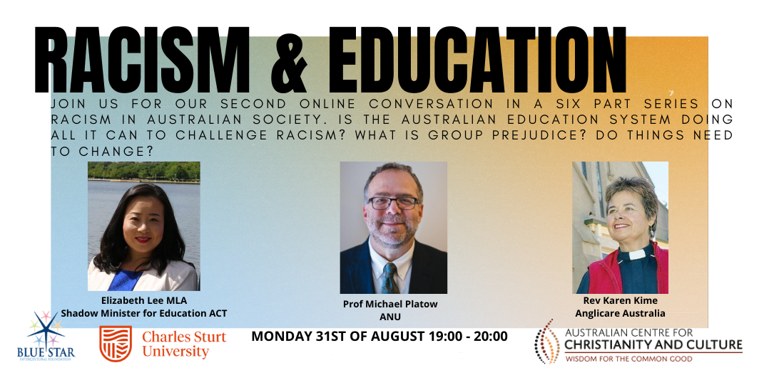 Racism & Education Webinar now available on Youtube
