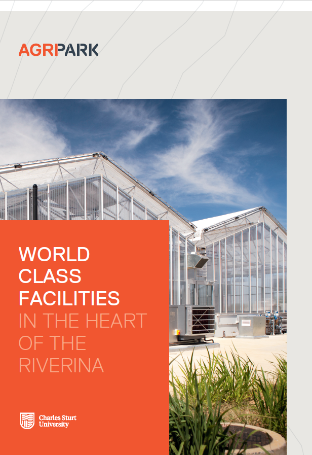 AgriPark Facilities Brochhure title page