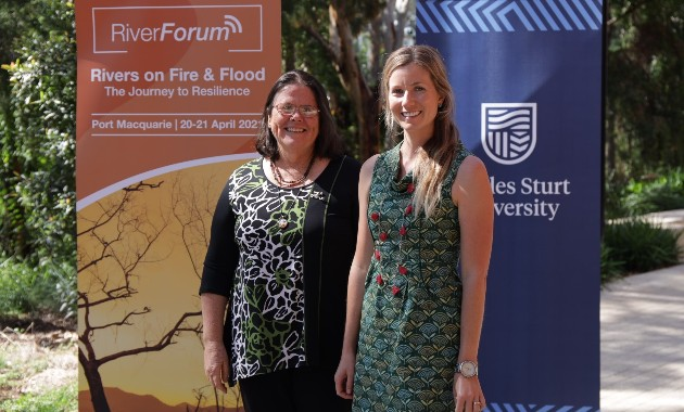 Impacts of drought, fires and flood on rivers