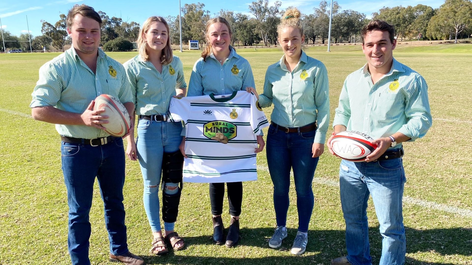 University rugby team kicks goals for mental health