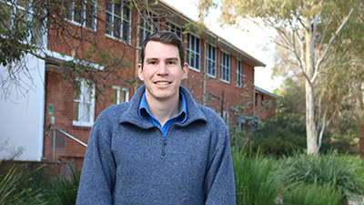 PhD student Tim Green