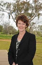Professor Sue Thomas, the new Deputy Vice-Chancellor (Research) at CSU.