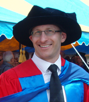 CSU Faculty of Business doctoral graduate, Dr Marc Peter