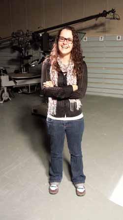 PhD student at CSU Ms Jasmine MacDonald.