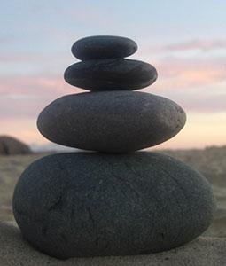 Mindfulness stones