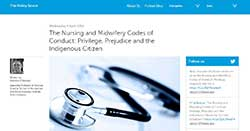 Nursing & Midwifery Code of Conduct