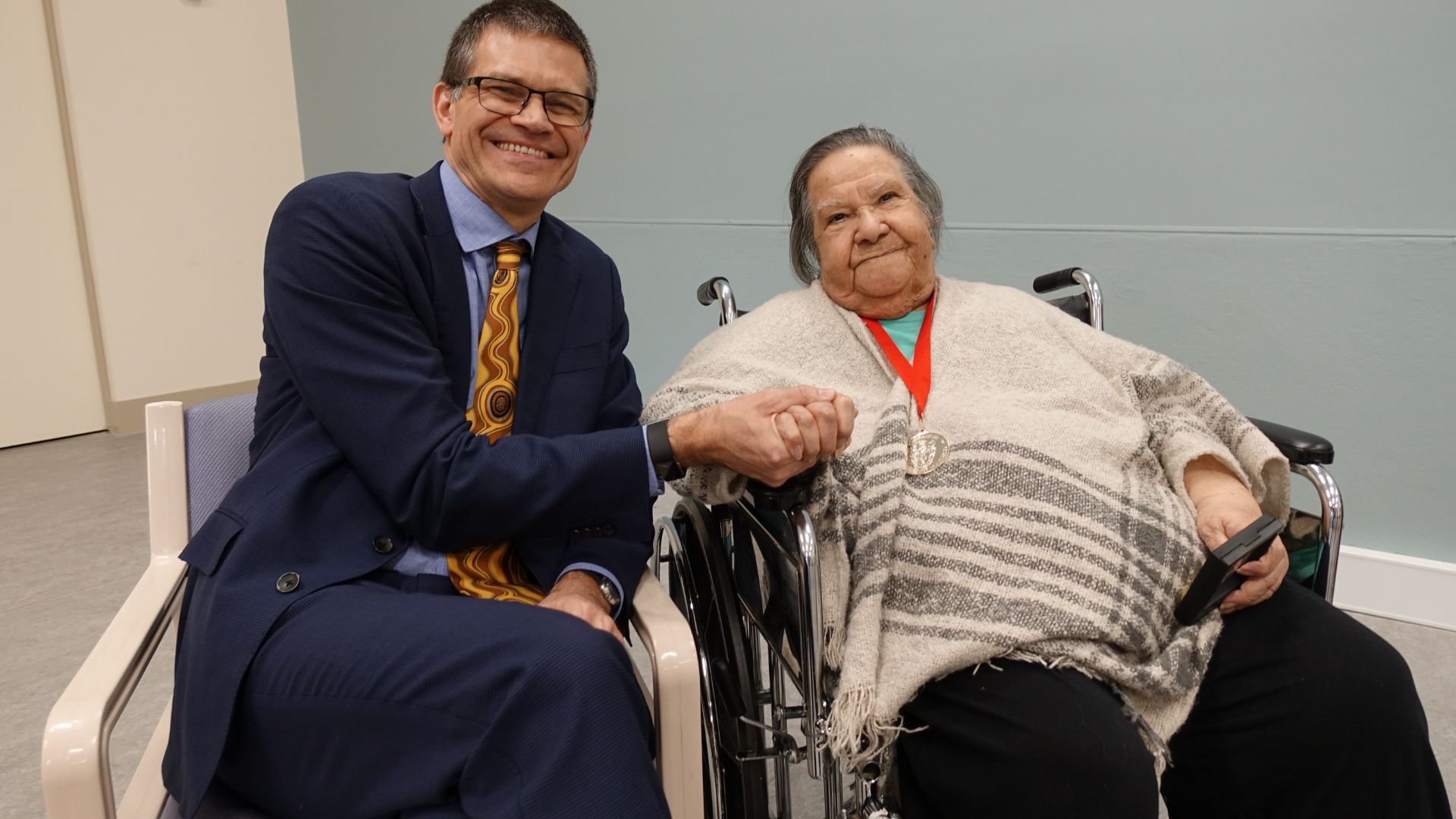Aunty Flo Grant awarded Order of the Companion of the University