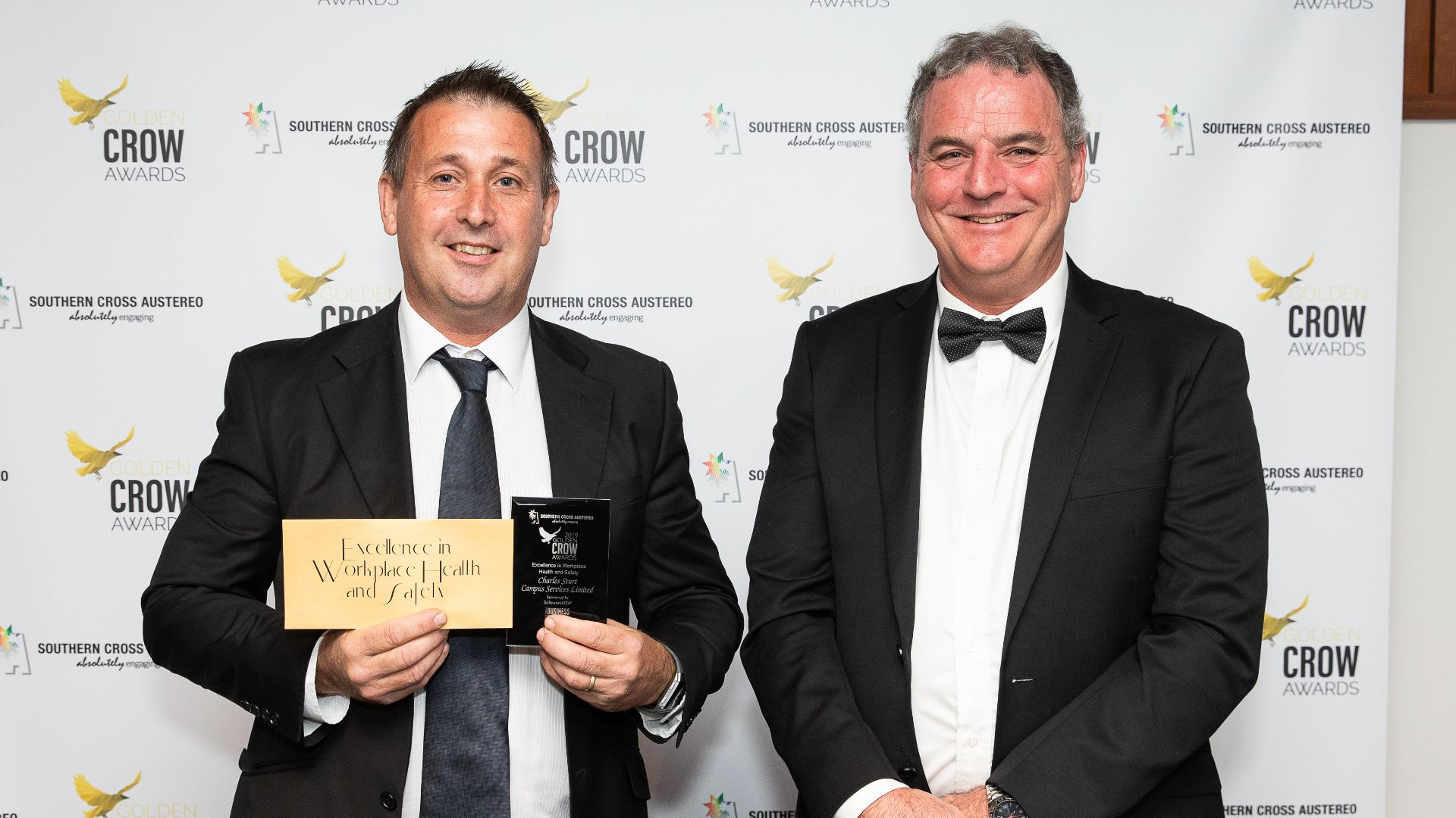 Charles Sturt  awarded for workplace health and safety