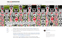 The Conversation - Improve health outcomes of indigenous people