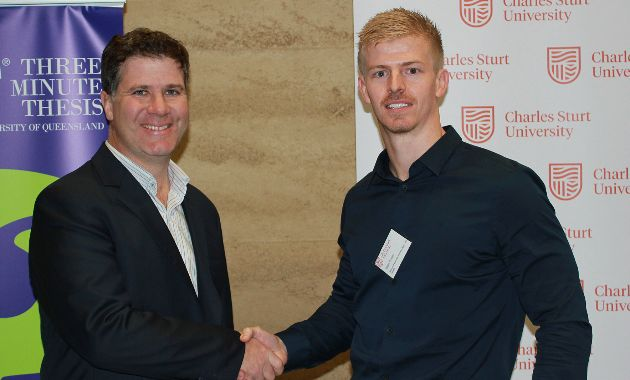 Exercise science PhD student represents Charles Sturt at 3MT Asia-Pacific finals